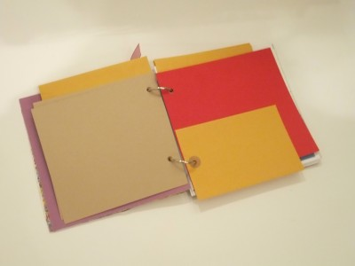 Ice Resin journal by Sara Naumann
