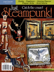 Just Steampunk magazine Sara Naumann Monday Morning Review blog
