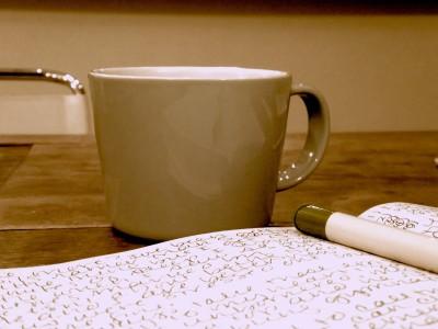 Coffee cup Sara Naumann blog