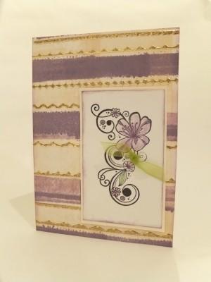 Sara Naumann blog plumeria card