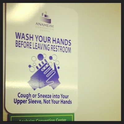 Sara Naumann blog wash your hands