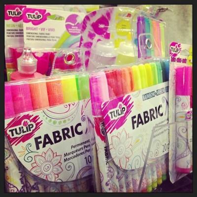 Sara Naumann blogger event fabric markers