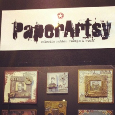 Paper Artsy booth