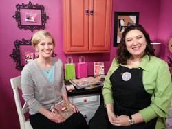 Sara Naumann and Julie Fei-Fan Balzer from Scrapbook Soup