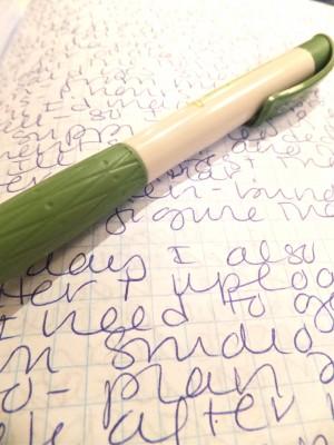 Sara Naumann journaling