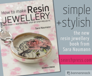 NEW! How to Make Resin Jewellery from Search Press | Sara