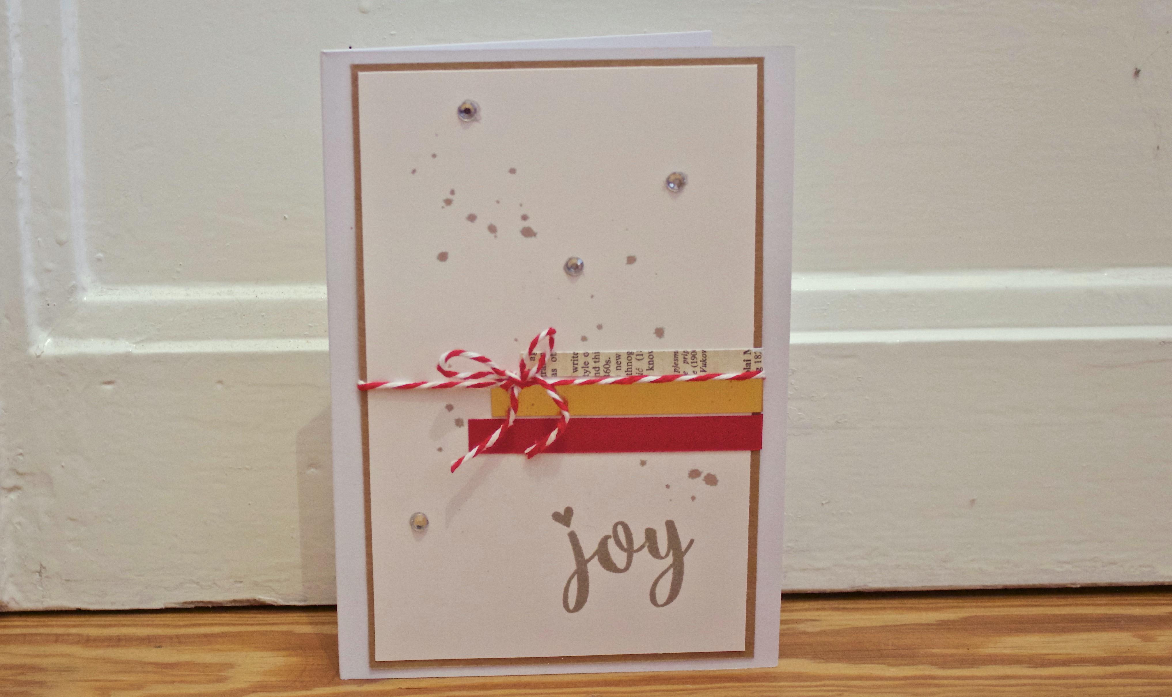 Sara Naumann Joy blog post card